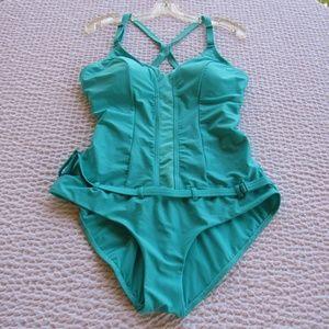 Oakley Womens 1pc Swimsuit Swim Suit XL